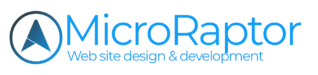Microraptor Web Site Design